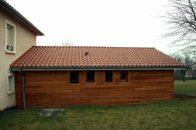 de maison en bois, constructeur de maison ossature bois, chalet ~ Bonhomme De Bois Lyon